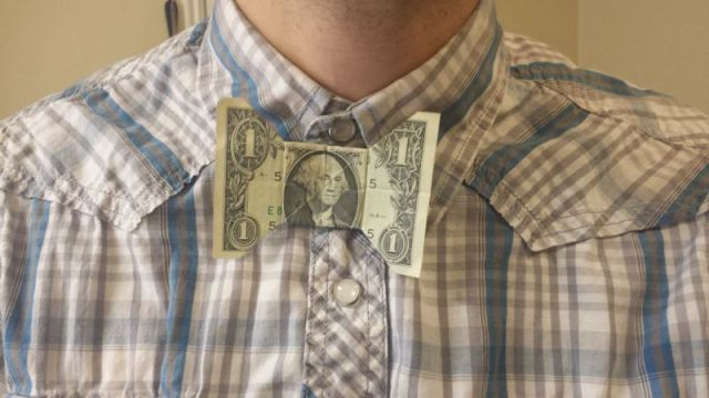 Simple Steps to Turn a $1 Bill into a Bow Tie
