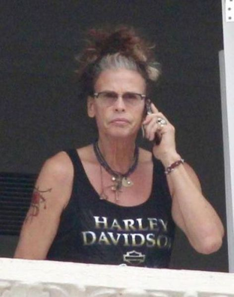 This Old Woman Is Actually Steven Tyler