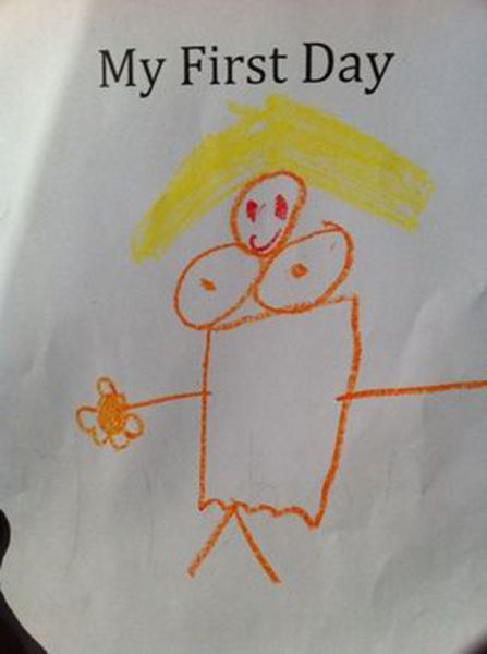Children's Drawings That Are Massively Inappropriate