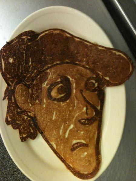 Clever Original Pancake Art