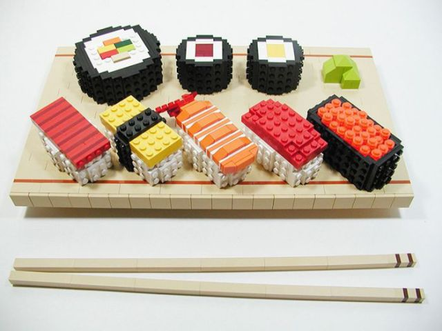 Lego Toy Food : Cool things made entirely out of lego pics izismile
