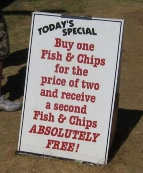 Now Who Can Refuse Such a Great Deal?