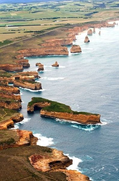 Scenic and Stunning Coastlines Worldwide