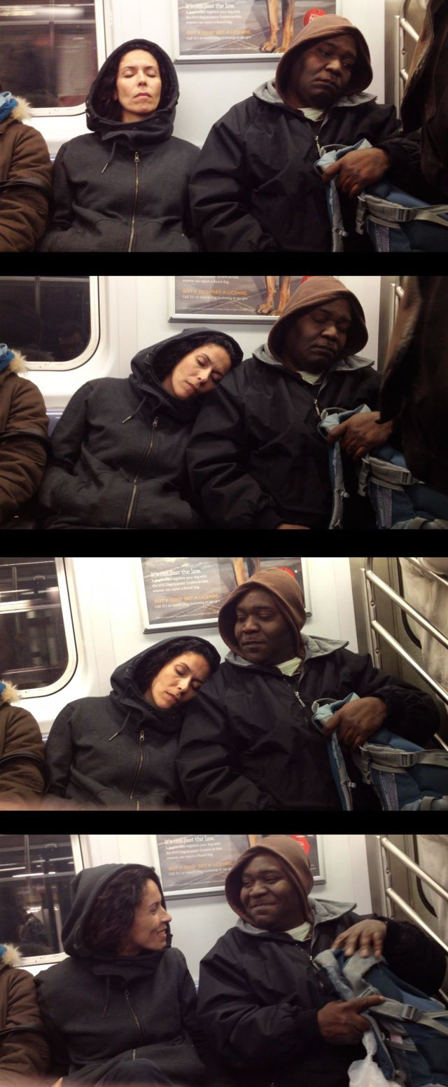 Sleeping on a Stranger