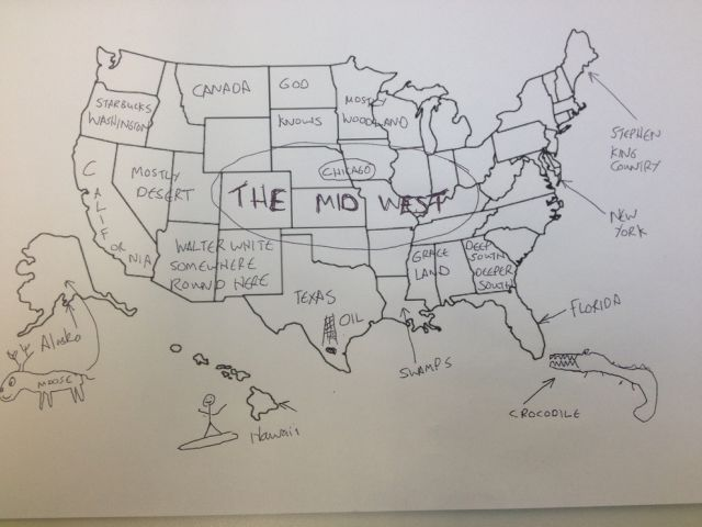 Americans and Brits Try Out Their Map Skills