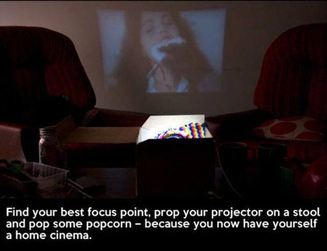 How to Turn a Smartphone into a Handy Projector