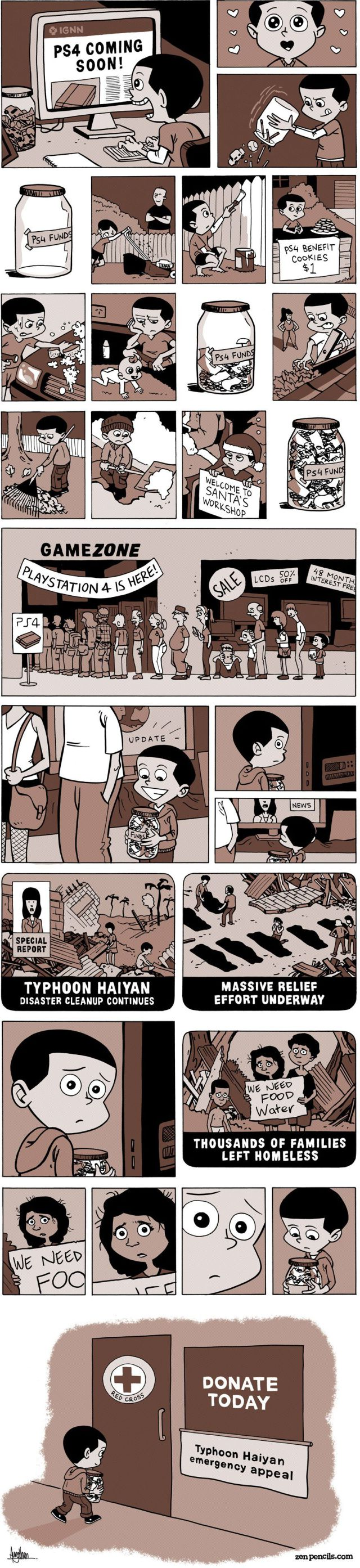 One Small Boy's Great Kindness…