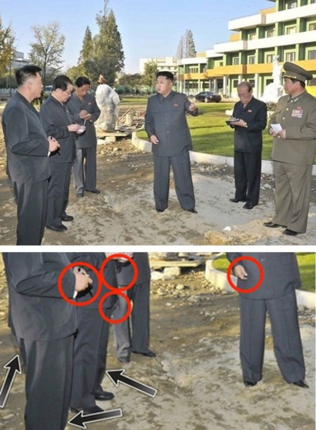 North Korean Officials Get Photoshop Totally Wrong