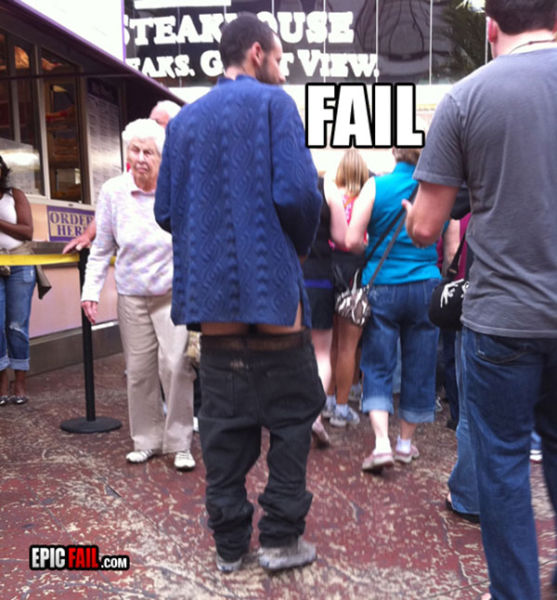 The Sagging Pants Fashion Trend That Makes Absolutely No Sense