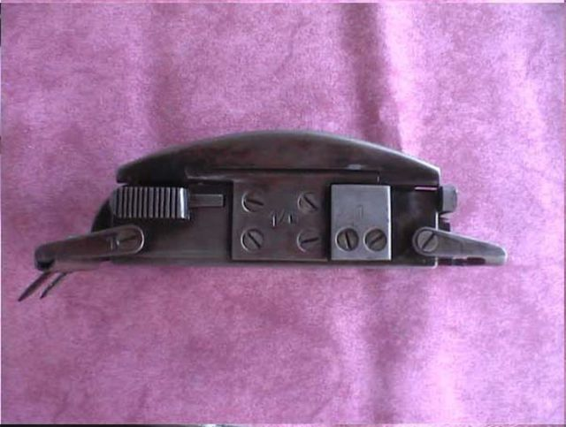 A Vintage SS Officer's Gun Belt and Gun