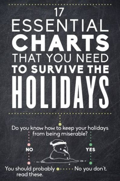 Useful Charts to Help You Get Through the Holiday Season