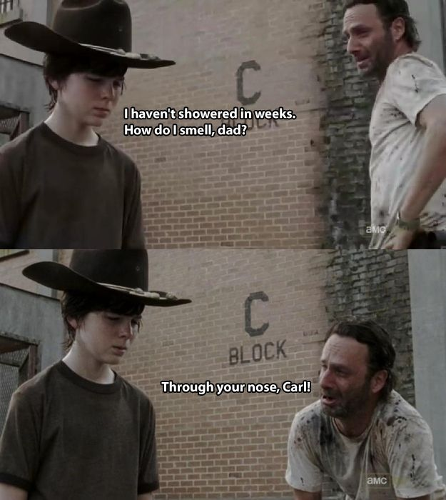 "Hilarious Dad Jokes from ""The Walking Dead's"" Rick Grimes"