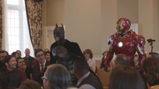 Wedding Gets Interrupted by Ninjas, Ironman and Few Others