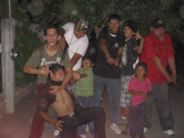 A Mexican Cartel's Family Fun as Seen on Facebook