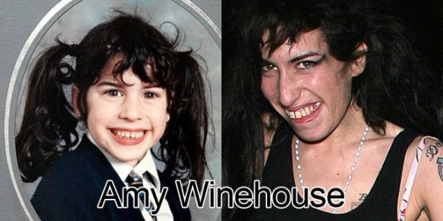 Sad Celeb Photos Taken Over Time