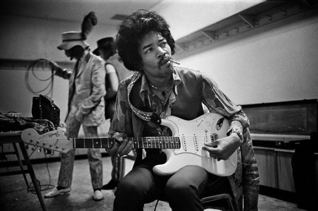 Candid Photos of Some of the World's Legendary Musicians