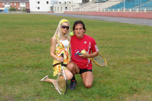 Possibly the Most Chauvinistic Ladies Tennis Coach in the World