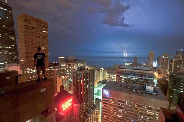 The Man Who Risks Arrest to Take Amazing Photos