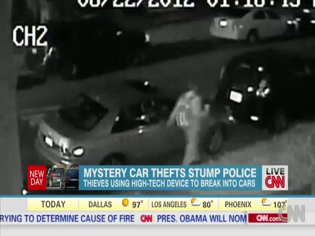 Stealing a Car or What's Inside Has Never Been Easier