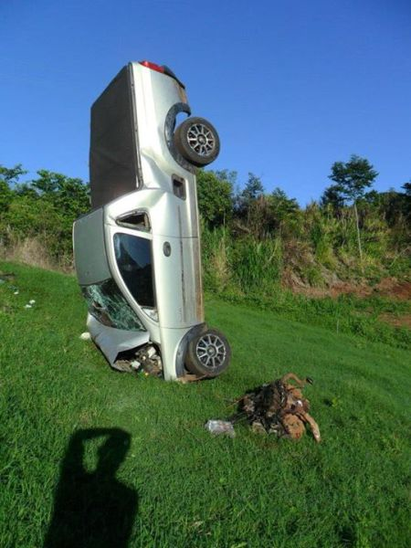 A Highly Unusual Car Crash