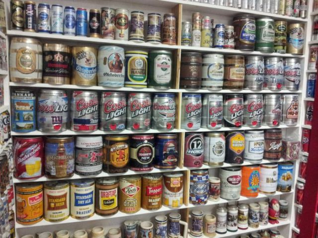 Impressive Beer Can Collection over Thirty Years