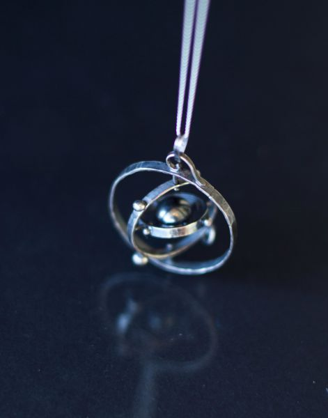 Handmade silver solar system pendants 30 pics picture 11 11 mozeypictures Choice Image
