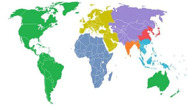 Informative Maps of the World That Show More Than Just Geography