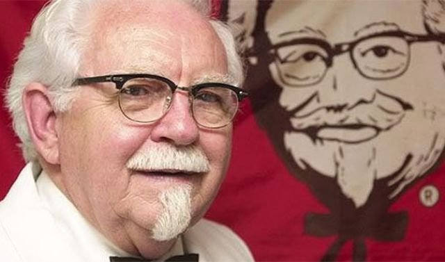 famous kfc homeless once history izismile fun founder interesting