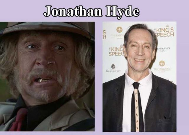 "Actors and Actresses from ""Jumanji"" Then and Now"
