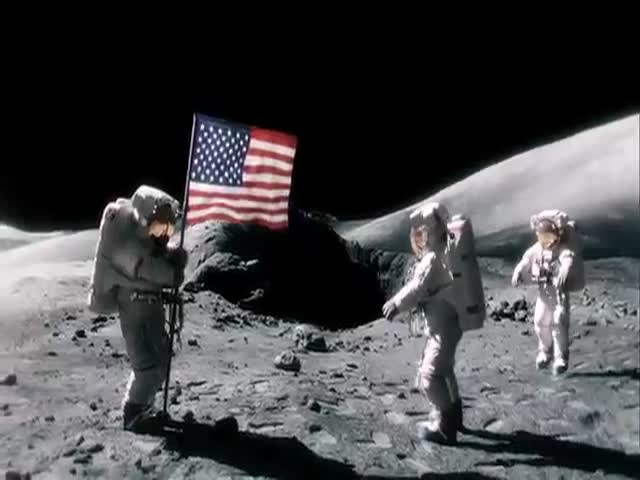 What They Didn't Show You about the First Moon Landing