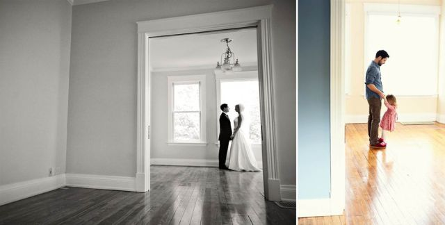 As a Way to Move on with Life, Man Recreates Symbolic Pictures