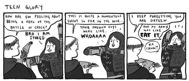 The Funniest Comics of 2013