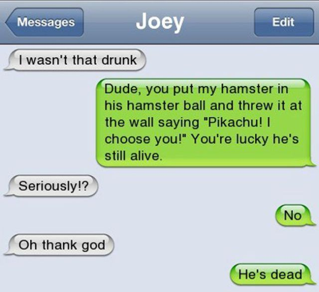 People Do the Funniest Things When They're Drunk