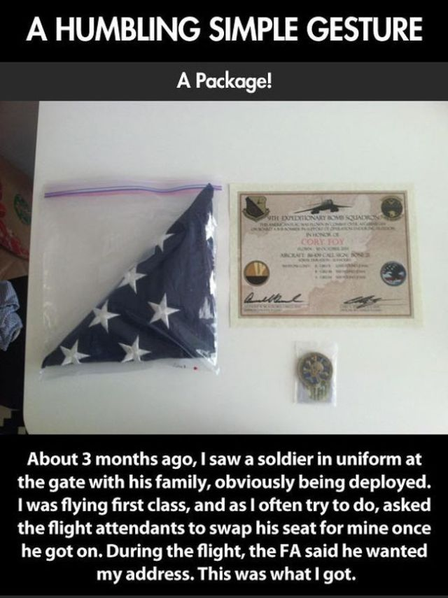 A Humble Thank You Gift from a Soldier