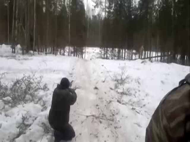Wild Boar Hunting Fail!