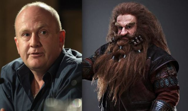 The Hobbit's Dwarves: Before and After Makeup