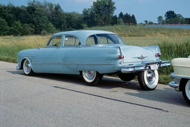 An Original Parking Break on this 1963 Packard Cavalier