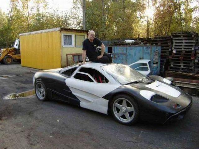 Home Made McLaren F1 Supercar