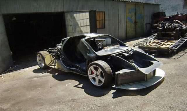 Home Made McLaren F1 Supercar