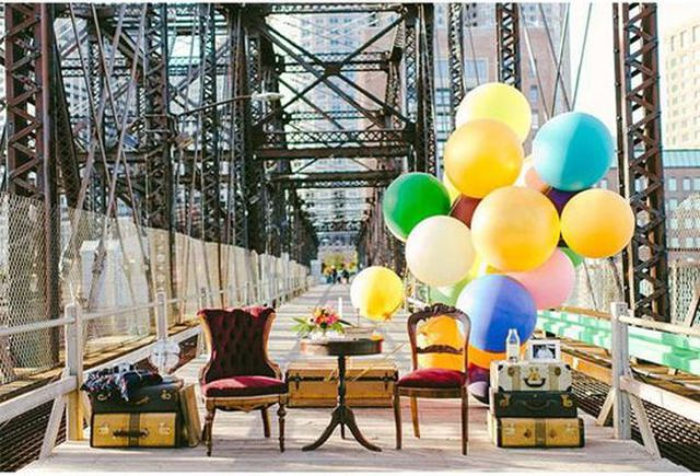 61 Year Anniversary Shoot Inspired by the Movie 'Up'