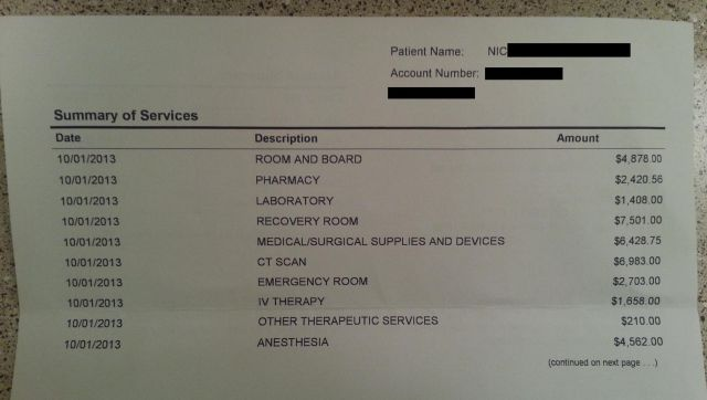 Appendectomy in USA Costs More Than You Think