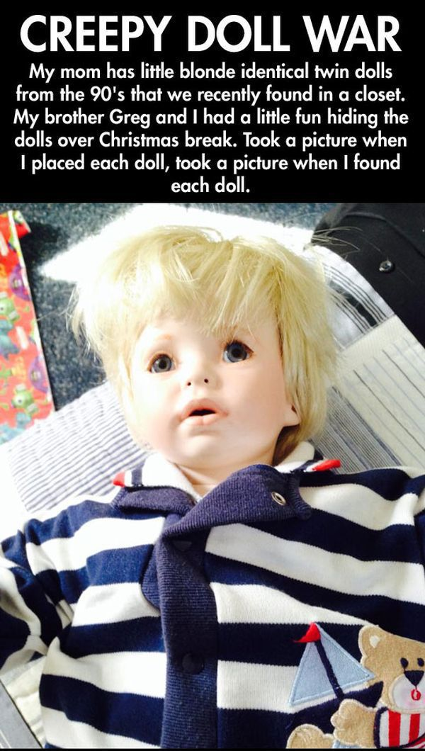 This Creepy Doll Can Scare You Over and Over
