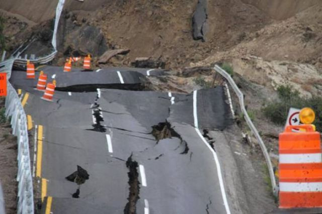 Hectic Landslide in Mexico