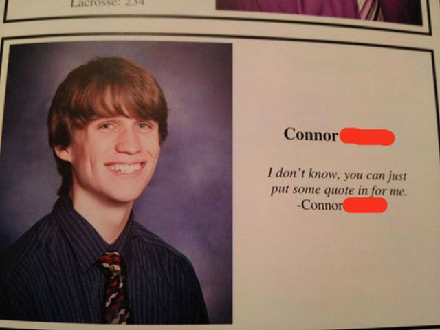 Smart-Ass Yearbook Quotes (32 pics) - Picture #25 - Izismile.com