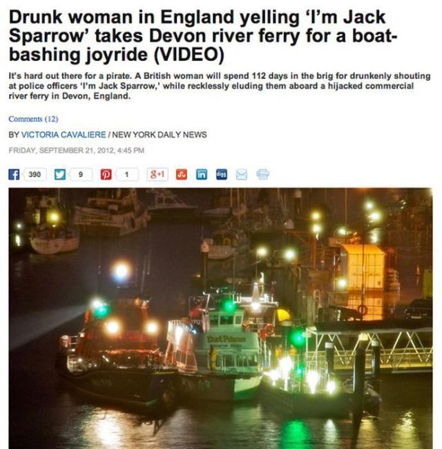 Drunken People Do the Strangest Things: Men vs Women