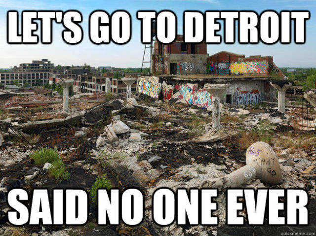 Just Another Day in Detroit