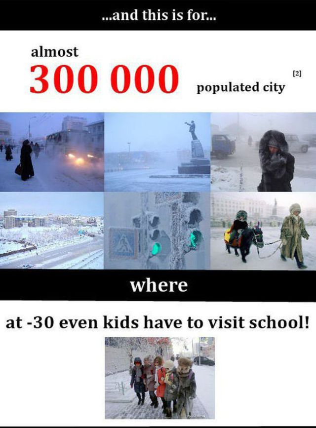 The Cold Facts About the Weather