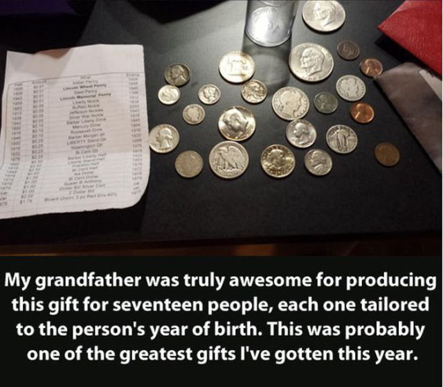 Grandfather Gives Amazing Personalized Gifts