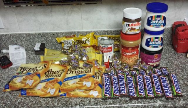 How to Make a Giant Snickers Bar