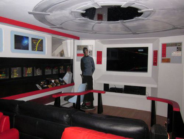 Star Trek Enterprise Becomes Her Home